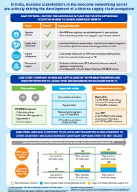 Analysys Mason - The economic impact of open and disaggregated technologies and the role of TIP in India (infographic) - 2021-07-20