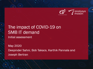 The impact of COVID-19 on SMB IT demand