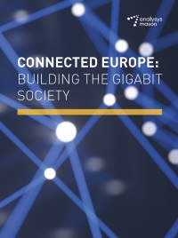 Connected Europe: building the gigabit society