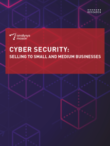 Cyber security: selling to small and medium-sized businesses