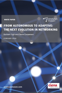 From autonomous to adaptive: the next evolution in networking front cover