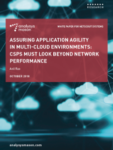 Front cover: Assuring application agility in multi-cloud environments: CSPs must look beyond network performance