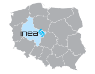 INEA's area of operations in Poland
