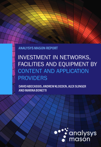 Content and application providers' Internet investment