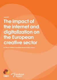 The impact of the internet and digitalisation on the European creative sector
